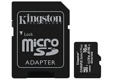 16GB Kingston Canvas Select Plus microSDHC UHS-1U1V10A1 Memory Card w/Adapter- 2