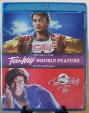 Teen Wolf & Teen Wolf 2 Too Blu-ray Shout Factory ~ Michael J. Fox Jason Bateman