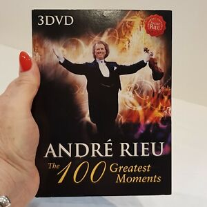 Andre Rieu 3 DVD Boxed Disk Set - The 100 Greatest Moments