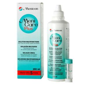 Meni Care Plus Multi Purpose Contact Lens Cleaning Solution - 250 ml