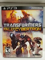 Transformers: Fall of Cybertron (Sony Playstation 3, 2012) CIB with Outer Case