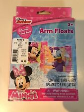 Disney Minnie/Daisy Inflatable Swimming Arm Floats - Toddlers, Kids, 3+