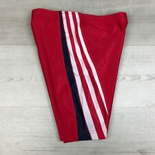 "Adidas Vintage 90's Spandex Lycra Cycling Shiny Shorts, Sz 28"" inch waist"