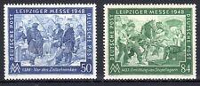 Germany / Allied Zone - 1948 Fair Leipzig - Mi. 967-68 MNH