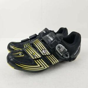 Pearl Izumi Men's Race RD II Road Shoe US 7.5 Cycling EU 40 Black/Silver Biker