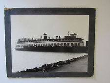 c1925 Photograph Fresno Electric Ferry Southern Pacific Railroad San Francisco