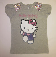 Girls t shirt top HELLO KITTY ex-store M * S short sleeve summer 1 2 3 4 5 6 7 8