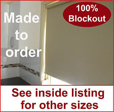 Roller holland blind 3000mm x 1500mm various colours