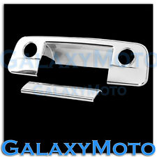 09-15 Dodge Ram 1500+2500+3500 Chrome Tailgate Handle Cover w/ Camera w/ keyhole