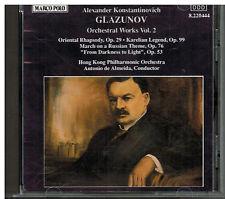 Glazunov: Orchestral Works Vol 2 / Almeida, Hong Kong Philharmonic - Germany