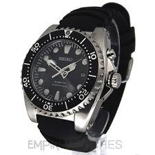 * nuevo * Seiko Kinetic Pro Divers 200m Caucho Reloj Ska371p2-RRP £ 295