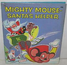 "1955 ""Mighty Mouse - Santa's Helper"" Wonder Book"