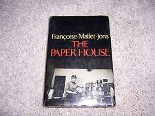 THE PAPER HOUSE by Francoise Mallet-Joris/1st Ed//HCDJ/Autobiography/Literary