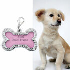 Pet Dog Tag Bling Crystal Charm Dogs Collars Rhinestone Jewelry Making Charms
