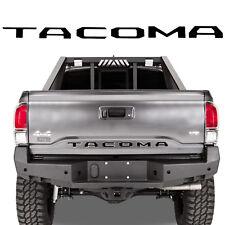 For 2016 - 2018 Toyota Tacoma Rear Tailgate Insert Letter Sticker Matte Black