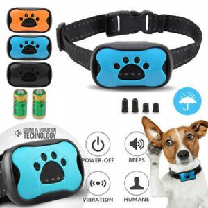 Antibell Hunde Halsband 3in1 Vibration Ton OHNE SCHOCK SPRAY Erziehungshalsband