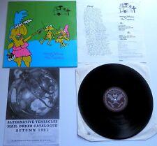 Alice Donut - Revenge Fantasies Of The Impotent Alternative Tentacles LP Inserts