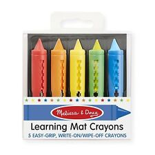 Melissa And Doug Learning Mat Crayons NEW Supplies Crafts