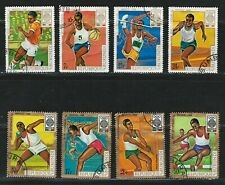 """BURUNDI 1968 Very Fine Used Stamps Set  """" 19th Olympic Games """""""