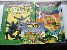 3 Tmnt Teenage Mutant Ninja Turtles Books Visit to Stump Asteroid/Movie/Series 1