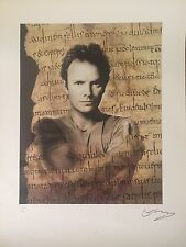 Sting The Police Signed Autographed Limited Edition Lithograph -Copeland Summers