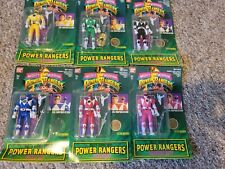 Original SEALED Power Rangers 1st-Gen Action Figures complete set (New in Boxes)