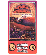 SLIGHTLY STOOPID Summer Vacation 2019 Tour Ltd Ed RARE Stickers! MATISYAHU HIRIE