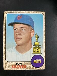 1968 Topps Tom Seaver #45 Rookie Card
