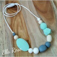 Silicone Necklace Fashion Women's Jewellery No BPA Adjustable Breakaway Clasp