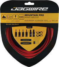 JAGWIRE MOUNTAIN PRO RED MTB BICYCLE BRAKE CABLE KIT