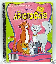 Disney The Aristocats Little Golden Book LGB 1970 Cartoon Story