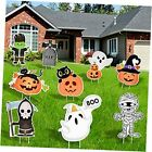 9Pcs Halloween Decorations Outdoor-Yard Signs with Stakes,Halloween Decor