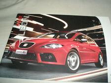 Seat Leon range brochure Nov 2006