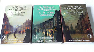 The MX Book of New Sherlock Holmes Stories - Part I & Part III & Part IV - *VGC*