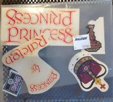 NOS Vintage Genuine Replacement Raleigh Princess Stickers