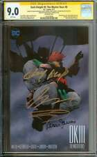 DARK KNIGHT III: THE MASTER RACE #8 CGC 9.0 WHITE PAGES ID: 10435