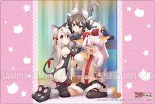 Fate/kaleid liner Prisma☆Illya 2wei! Illya & Kuro & Miyu RUBBER Playmat Weiss