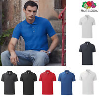 Fruit of The Loom 65-35 Men's Tailored Fit Polo (63-042-0) - Short Sleeve Tee