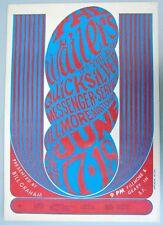 Bg 11 Bill Graham Fillmore Poster: Wailers, Quicksilver, Wes Wilson Art, 1966