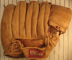 1950's Wilson Ted Williams top-line USA  A2040 baseball glove Boston Red Sox RH