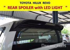 REAR SPOILER WITH BREAK LIGHT FOR TOYOTA HILUX REVO 2015-