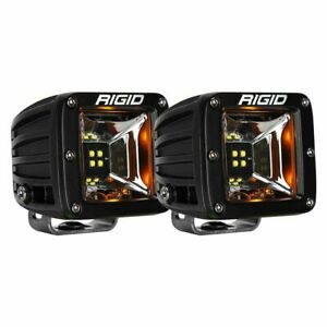 Rigid Industries 68204 Surface Mount Radiance Scene With Amber Backlight - Pair