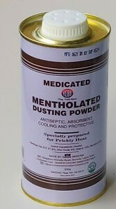 CUSSONS MEDICATED MENTHOLATED ANTISEPTIC DUSTING POWDER 200g