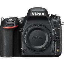 Nikon D750 DSLR Camera 24.3MP FX-Format CMOS Sensor-Body Only!! Brand New!!