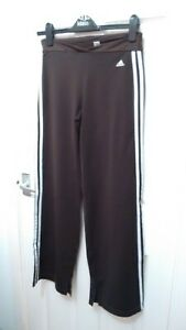Adidas Brown Stretch Yoga Leisure Pants Trousers Worn Once sz 10