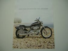 2003 HARLEY DAVIDSON 100TH SPORTSTER 883 HUGGER OEM CUSTOM BROCHURE SPEC SHEET