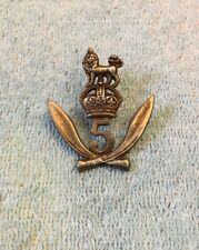 WW2 British India Army 5th Gurkha Rifles Cap Hat Badge WWII Insignia
