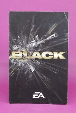 INSTRUCTION BOOKLET/MANUAL ONLY FOR BLACK PS2 (NO GAME) 🐱OZ SELLER