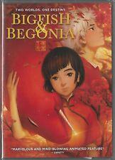 New listing Big Fish & Begonia (2016) Dvd Guanlin Ji, Shangqing Su & Timmy Xu