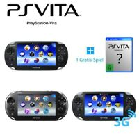 PS Vita / Sony Playstation Vita Konsole inkl. Stromkabel + GRATIS Spiel